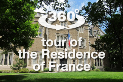 Virtual tour of the French ambassador's residence - France