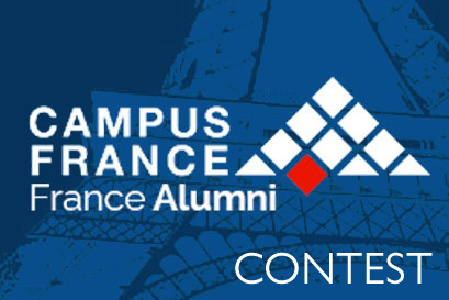 "Participate in the contest ""Yes, I Studied Abroad in France!""'"