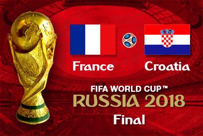 France-Croatia at La Maison Française - July 15, 11am