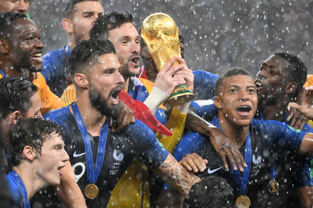 """Fiers d'être bleus"": young, passionate team leads France to victory"