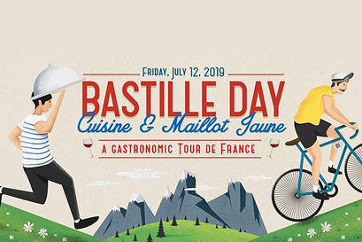 Bastille Day - A Gastronomic Tour de France'