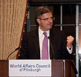 Amb. Delattre Speaks at World Affairs Council of Pittsburgh