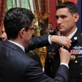 Ambassador Delattre Bestows Six American Soldiers with the Croix de la Valeur Militaire