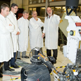 The Ambassador's visit to the NASA Jet Propulsion Laboratory